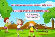 Thì tương lai hoàn thành tiếp diễn, công thức và bài tập áp dụng - Future Perfect Continuous